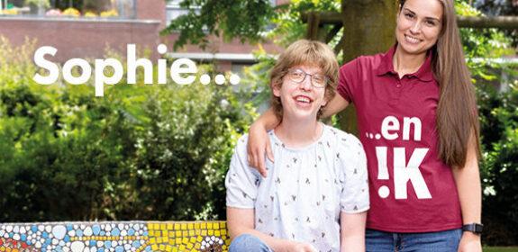 Lisanne kan zichzelf zijn als begeleider gehandicaptenzorg