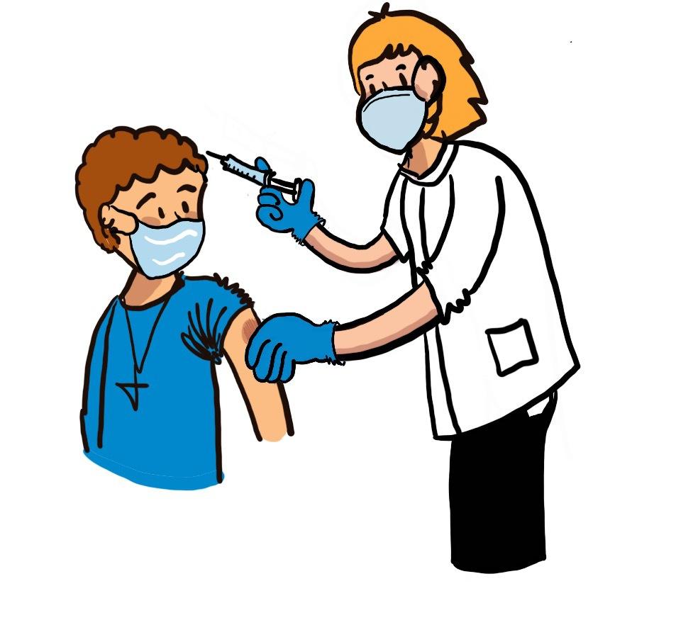 Vaccineren illustratie